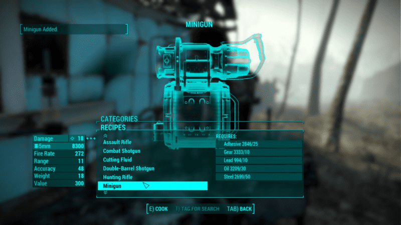 Fallout 4 craftable weapons