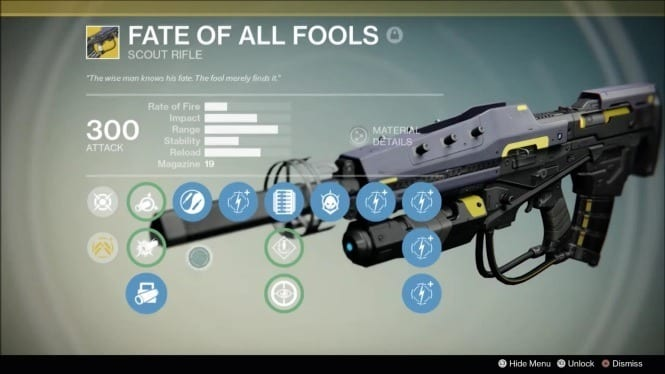 destiny fate of all fools