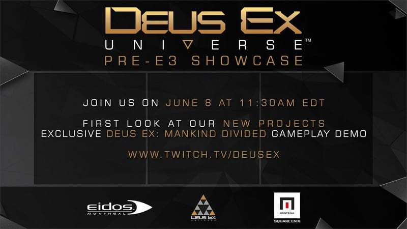 Deus Ex: Mankind Divided, Square Enix, Eidos Montreal