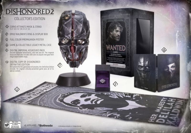 dishonored 2 special edition