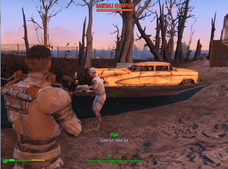 exotic enemies Fallout 4