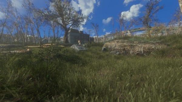 fallout 4, mods, grasslands