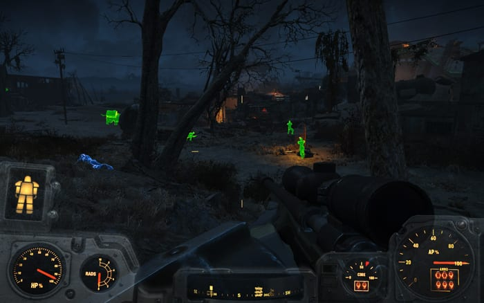 fallout 4 targetting hud mod