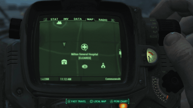 Fallout 4 fast travel