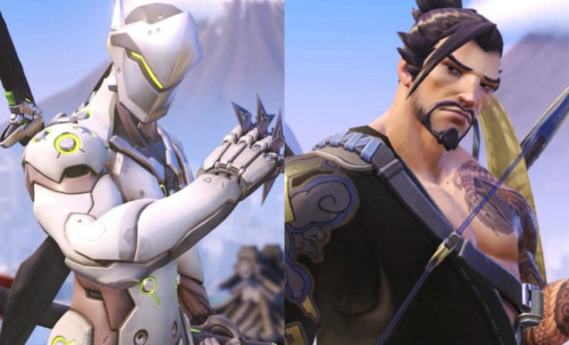 Overwatch Hanzo vs Genji