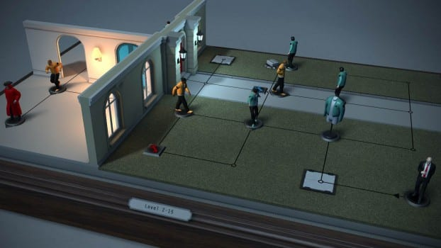 18. Hitman Go: Definitive Edition