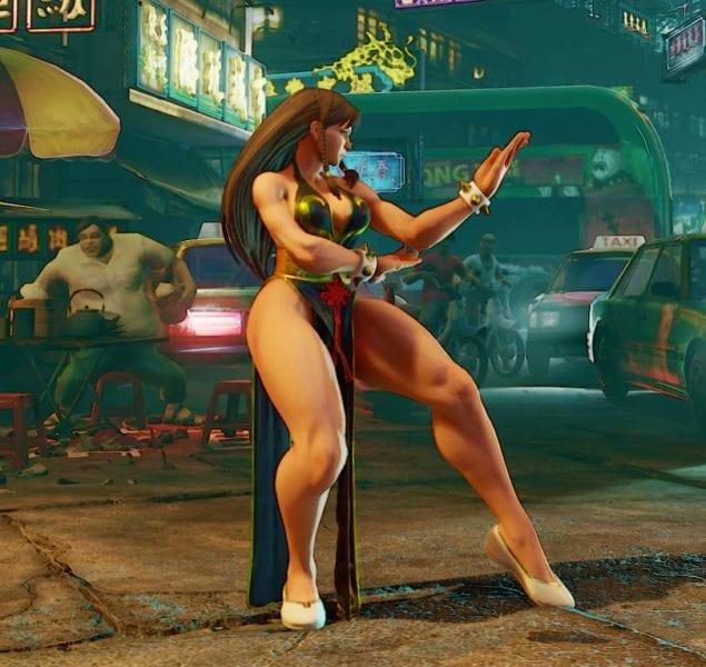 Street Fighter V, Battle Chun-Li