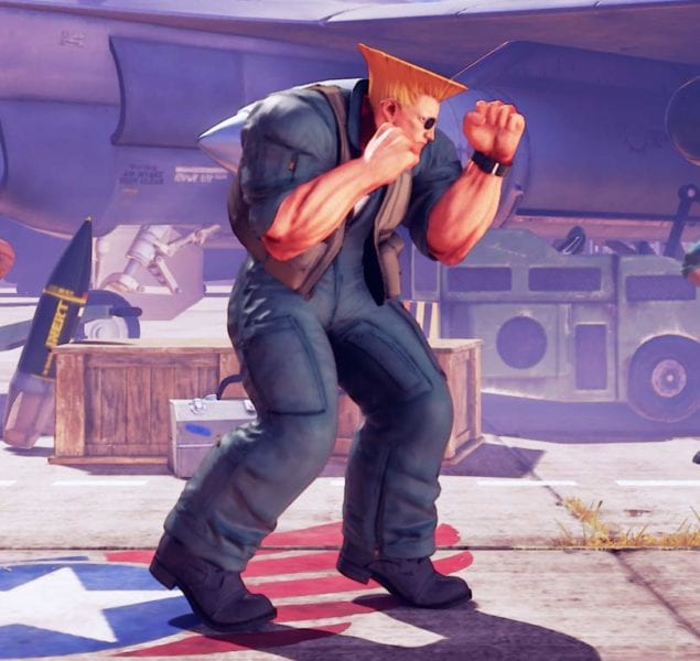 Street Fighter V, Battle Guile