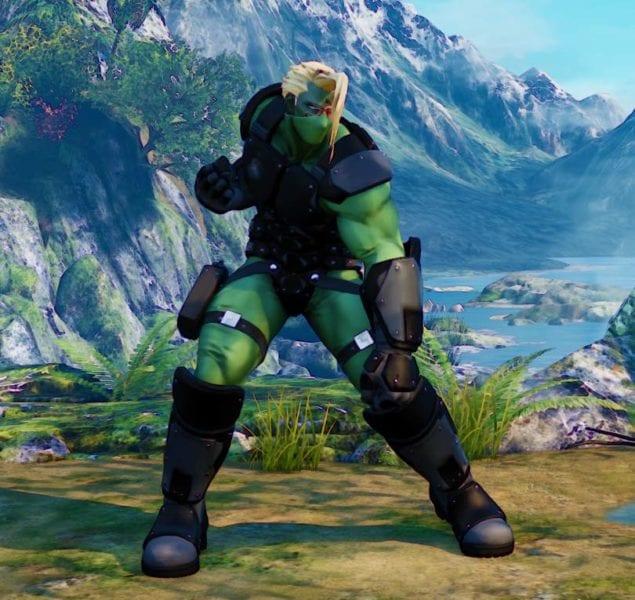 Street Fighter V, Battle Nash