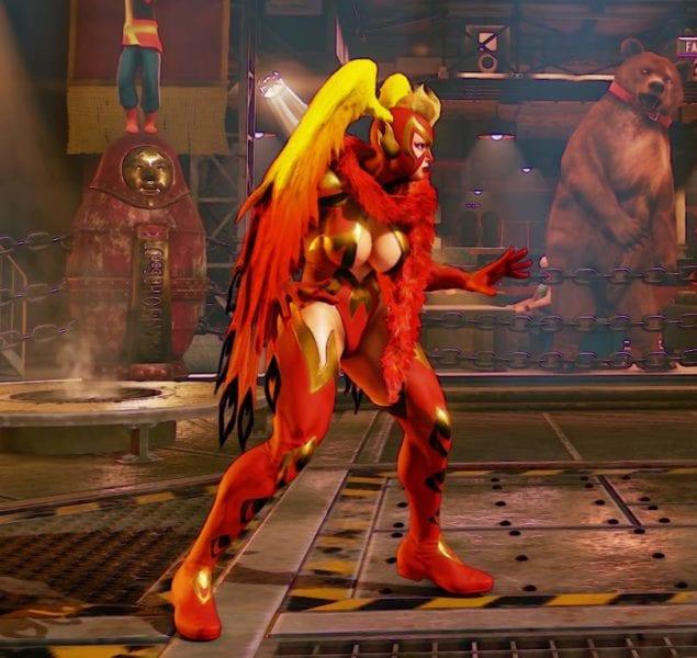 Street Fighter V, Battle Rainbow Mika