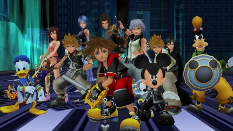 kingdom hearts 3, e3