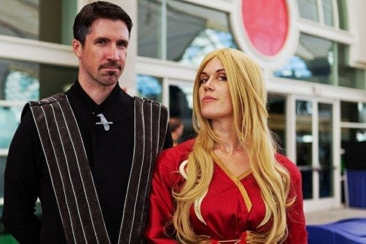 Littlefinger and Cersei
