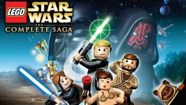 2) LEGO Star Wars: The Complete Saga