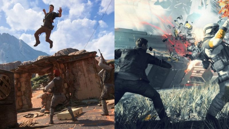 ps4 xbox one exclusives