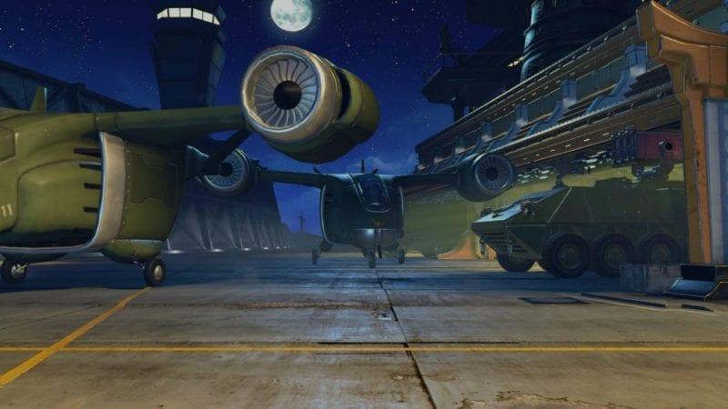 Street Fighter V, Shadaloo Base at Night Stage