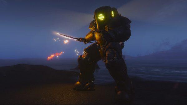 submersible power armor