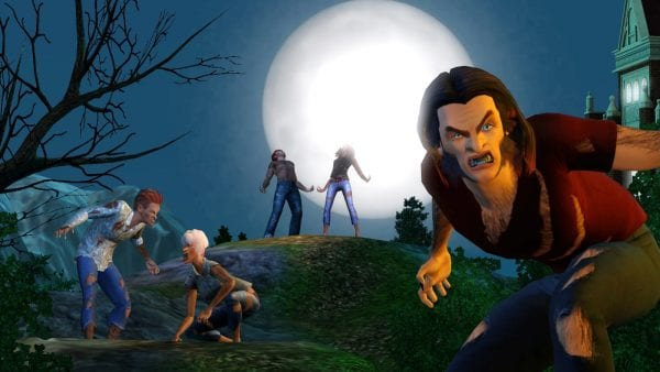 sims 3 werewolves
