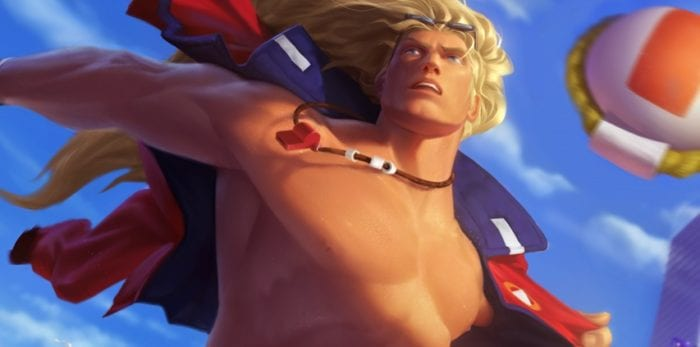 League of Legends Pool Party Taric