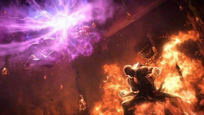 tekken 7 akuma vs. heihachi