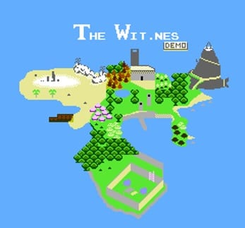 The Witness Demake The Wit.ness