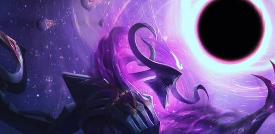 league of legends dark star thresh skin splash art