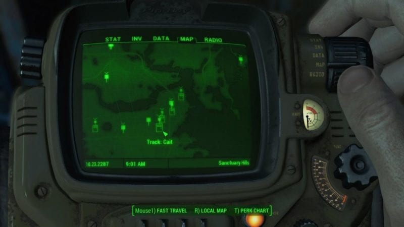 Fallout 4 track companions