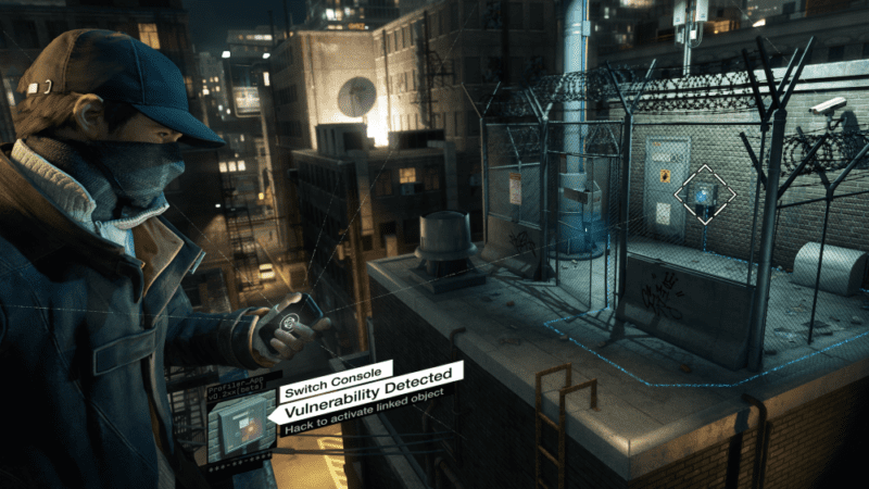 watch dogs hacking