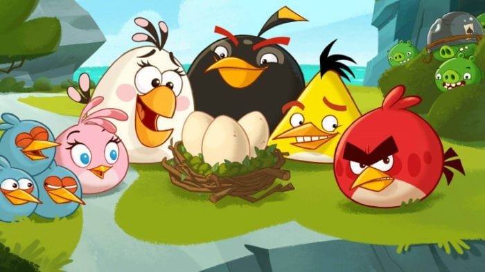 Angry Birds, mobile, game