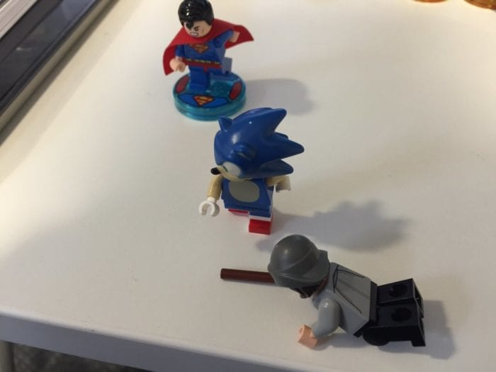 Here S What Sonic The Hedgehog Looks Like As A Lego Dimensions Figurine