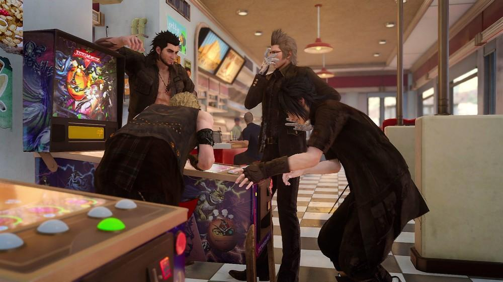 Final Fantasy XV, Universe, Justice Monsters Five