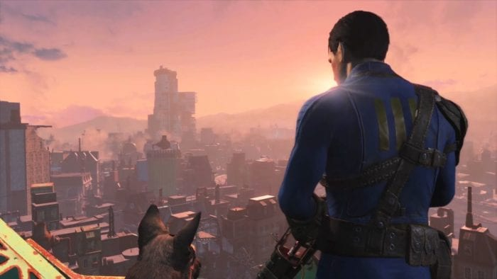 fallout 4, ps4 pro, mod support, open-world