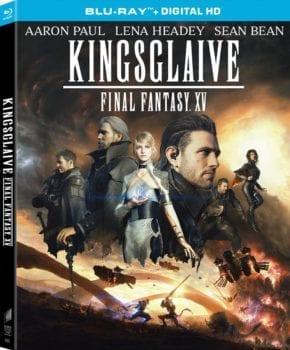 Kingsglaive Final Fantasy XV, box art