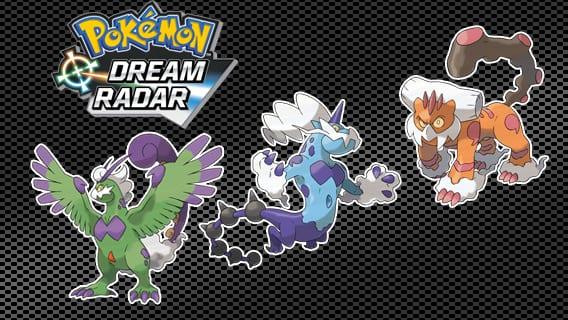 Pokemon Dream Radar 1