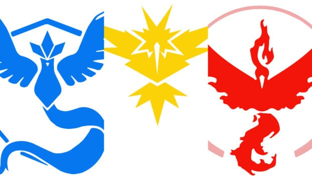 Valor, Mystic, and Instinct