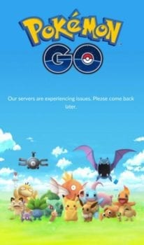 Pokemon GO, server