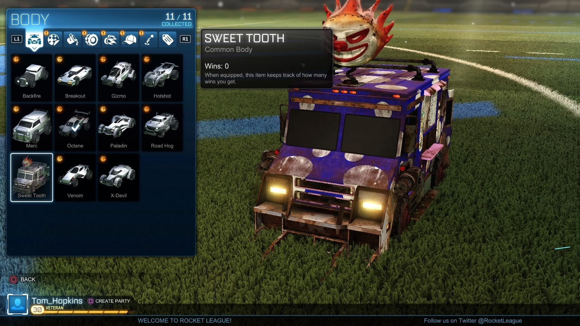 rocket league how to unlock all cars