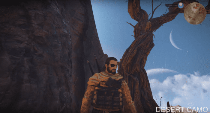 These Witcher 3 Mods Will Transform Geralt into MGSV's Big Boss