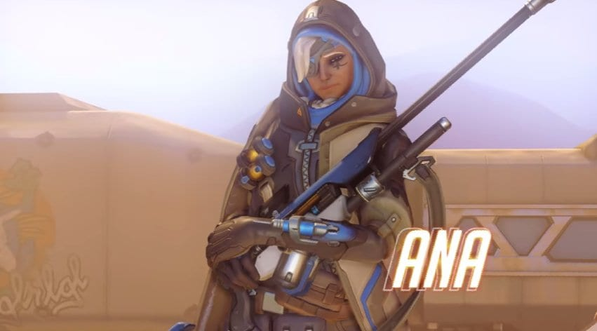 Ana, Overwatch, New hero, trailer, announcement