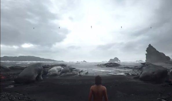 kojima, death stranding, whales