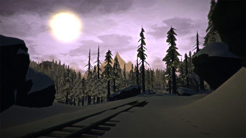 The Long Dark Train Tracks