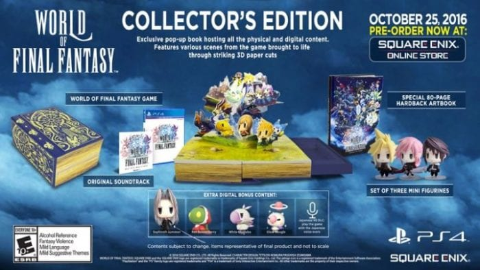 World of Final Fantasy Collector's Edition