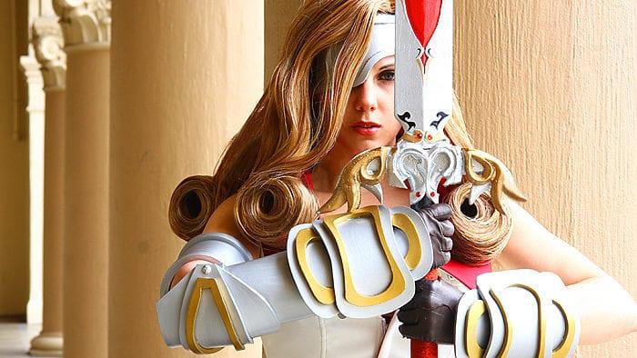 beatrix, final fantasy, cosplay