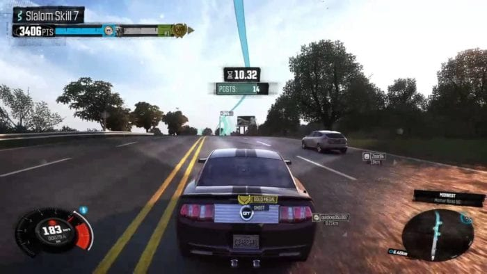 the crew, slalom, tips, tricks, guide, challenges