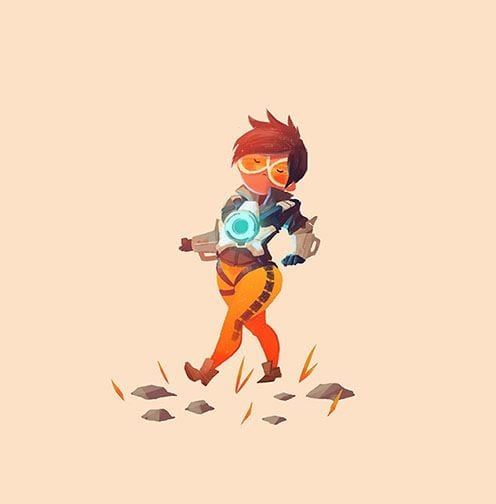 cute tracer