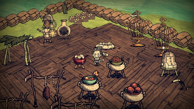 don't starve shipwrecked food