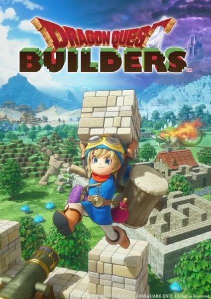Dragon Quest Builders, Square Enix, box art