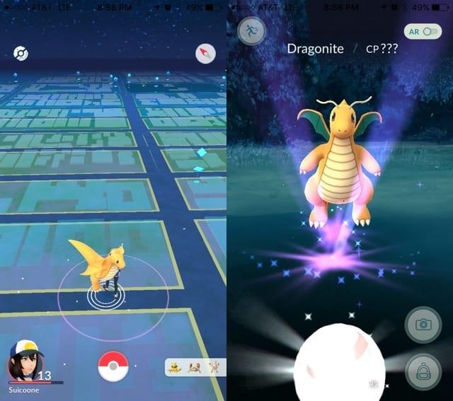 Pokemon GO Wild Dragonite
