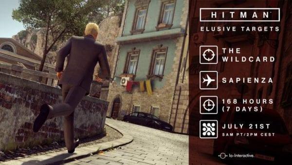 hitman,elusive target,gary busey,target seven,sapienza,7 days,io interactive,square enix