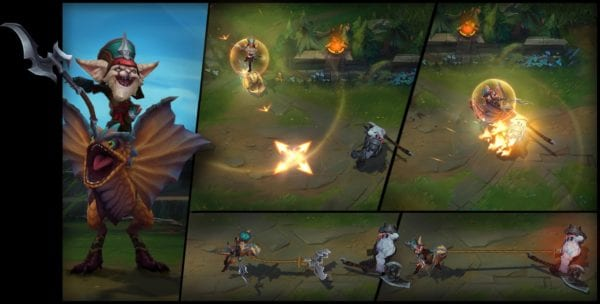 League of Legends Kled Abilities