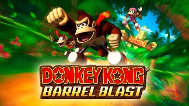 22. Donkey Kong Barrel Blast